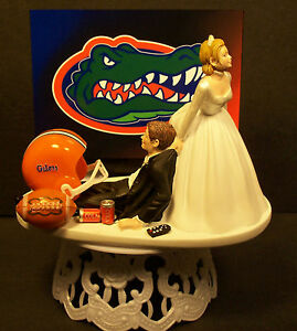 florida gator wedding cake toppers florida gators college football wedding cake topper sports 14326