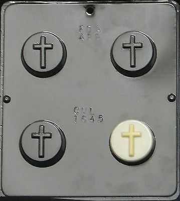 Plain Cross Oreo Cookie Chocolate Candy Mold Religious  1645 NEW](Candy Cross)