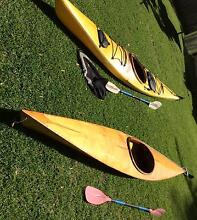 Two touring kayaks for sale Newport Pittwater Area Preview