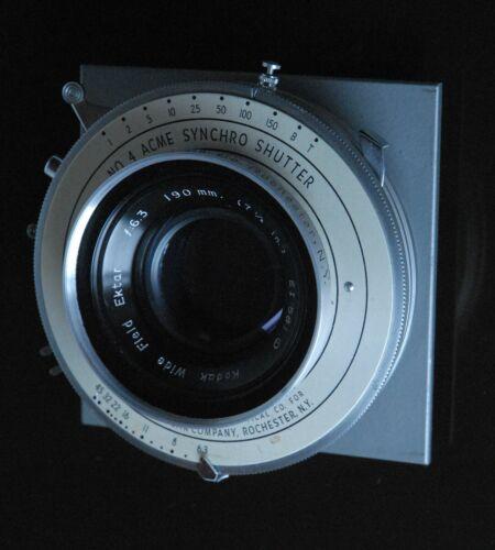 190mm Kodak Wide Field Ektar - beautiful!