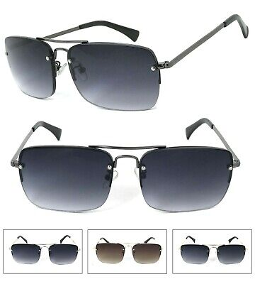 Mens Full Lens (Not Bifocal) Magnified Tinted Sun Reader Reading Sunglasses (Magnifying Sunglasses Not Bifocal)
