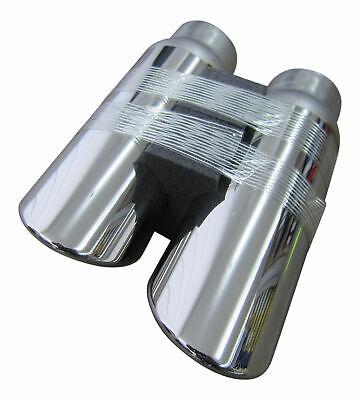 Für viele Fahrzeuge 2x Premium Edelstahl Endrohre Original Qualität Einlass 51mm