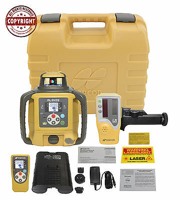Topcon Rl-sv2s Rb Dual Slope Self-leveling Rotary Grade Laser Levelrechargeable