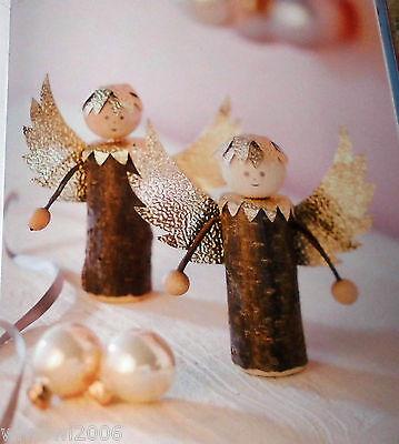 mini astfiguren zur weihnachtszeit topp 2014 holz basteln bastelbuch weihnachten - Holzbasteln