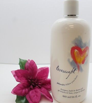 - PHILOSOPHY LoveSwept Shampoo Bath Shower Gel 16 oz