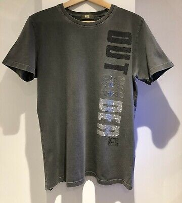 Men's Iceberg T-Shirt - Grey -Size S Fits like M - Rarely Worn In Good Condition