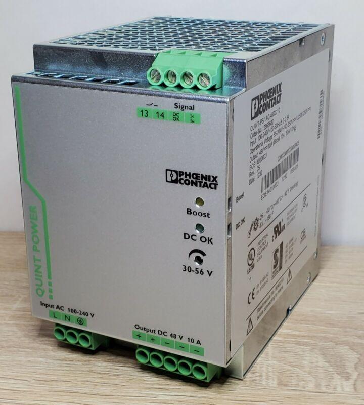 Phoenix Contact 2866682 QUINT-PS/1AC/48DC/10 48VDC 10A Power Supply