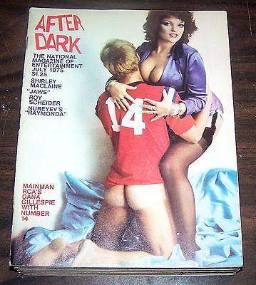 AFTER DARK Magazine…July 1975 [Dana Gillespie With Number 14] Vintage Issue