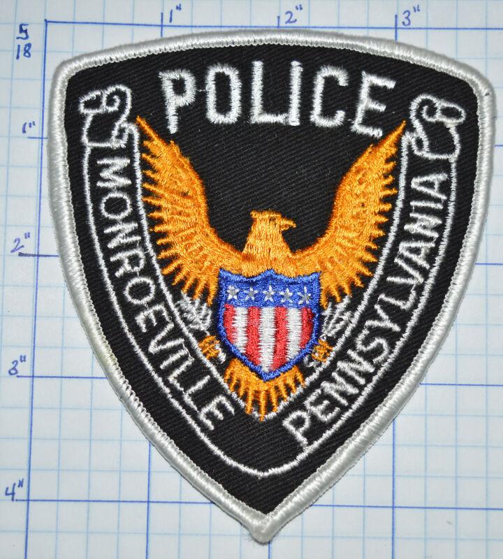 PENNSYLVANIA, MONROEVILLE POLICE DEPT PATCH