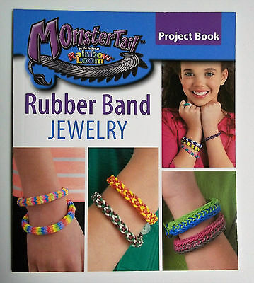 Monster Tail  Loom Rubberband Jewelry Instruction Book by Leisure Art New](Rubber Band Loom Instructions)