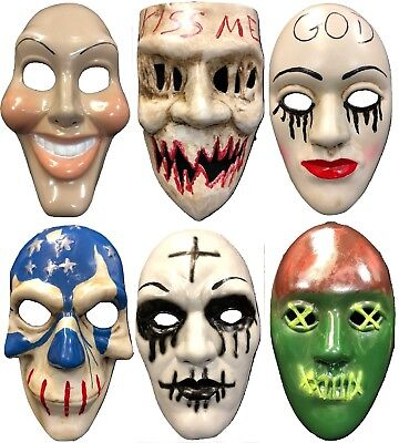 UK THE PURGE NEW MASK HALLOWEEN FANCY DRESS UP COSTUME CHILD ADULT OUTFIT MOVIE