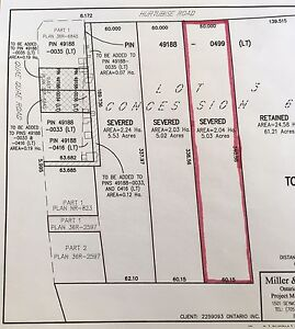Beautiful 5 Acre lot for sale