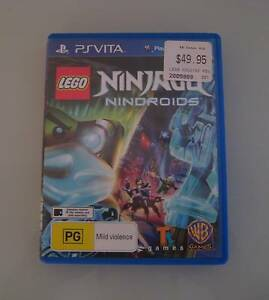 LEGO NINJAGO NINDROIDS - PS VITA Algester Brisbane South West Preview