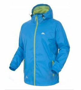 RRP £49.99 TRESPASS MENS / LADIES LIGHTWEIGHT PACKABLE WATERPROOF QIKPAC JACKET