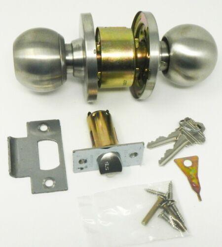 Master Lock BLC0232DKA4 Cylindrical Lockset Storeroom Ball Brushed Chrome