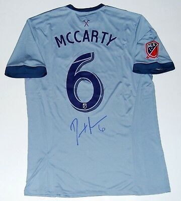 2410efc91 DAX MCCARTY signed (CHICAGO FIRE) MLS SOCCER autographed jersey W COA