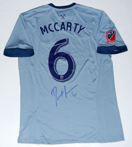 DAX MCCARTY signed (CHICAGO FIRE) MLS SOCCER autographed jersey W/COA