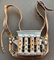 Schaffnertasche Leder mit Geldwechsler, Trageriemen, antik Kr. Dachau - Dachau Vorschau