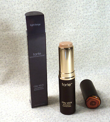 TARTE CLAY STICK FOUNDATION - LIGHT BEIGE - 0.32 oz. - BOXED