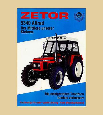 Zetor 5340 Allrad  Schlepper 63 PS  Traktor na sprzedaż  Wysyłka do Poland