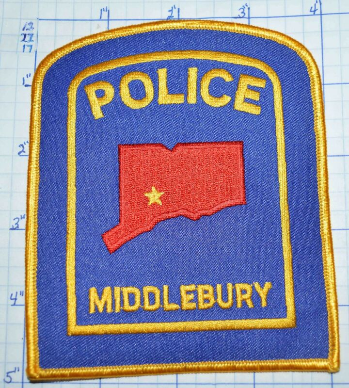 CONNECTICUT, MIDDLEBURY POLICE DEPT PATCH