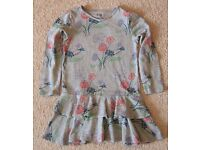 Baby Gap Girls Portobello Floral Bow Dress 18-24 month NWT