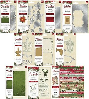 Collection Poinsettia - Crafters Companion - Nature's Garden - Poinsettia Perfection - Collection