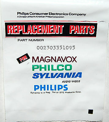 Discontinued Vintage Philips 002303351095 Resistor Electronic Component
