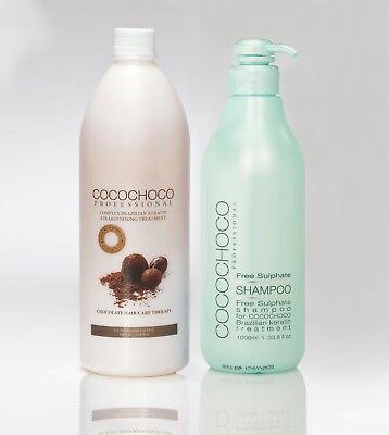 COCOCHOCO Keratin Treatment Hair Straightening & Free Sulphate Shampoo Best (Best Straightening Shampoos)