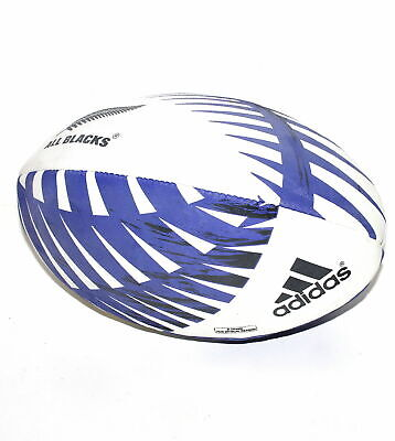 adidas New Zealand Rugby All Blacks Graphic Optical B-Grade Ball - Size 5 - New