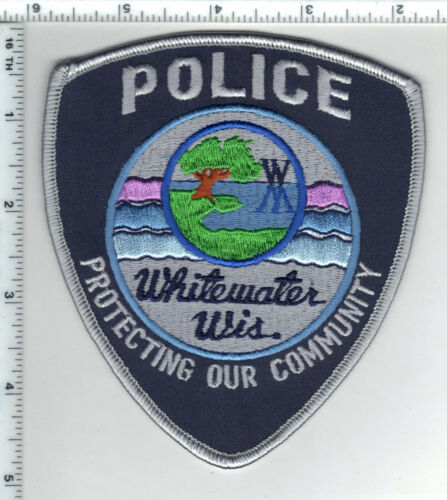 Whitewater Police (Wisconsin) 2nd Issue Shoulder Patch