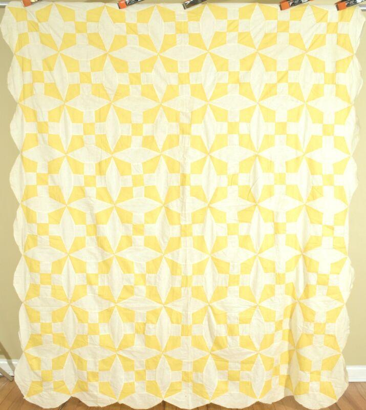 Vintage Sunny Yellow & White 30