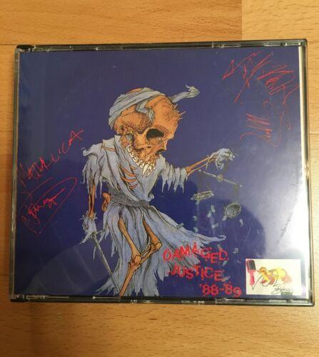 METALLICA - DAMAGED JUSTICE 88-89 LIVE 2CD