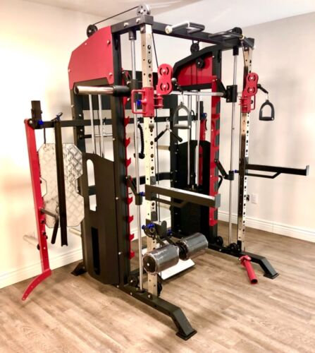 Gym equipment like brute force 360PTX all in one exercise free weigh commercial