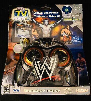 NEW 2005 WWE Plug and Play Raw//Smackdown Game Jakks Pacific