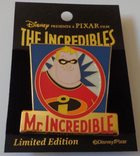 Japan M & P Disney Pixar The Incredibles Mr Incredible Bob Parr Pin LE 600