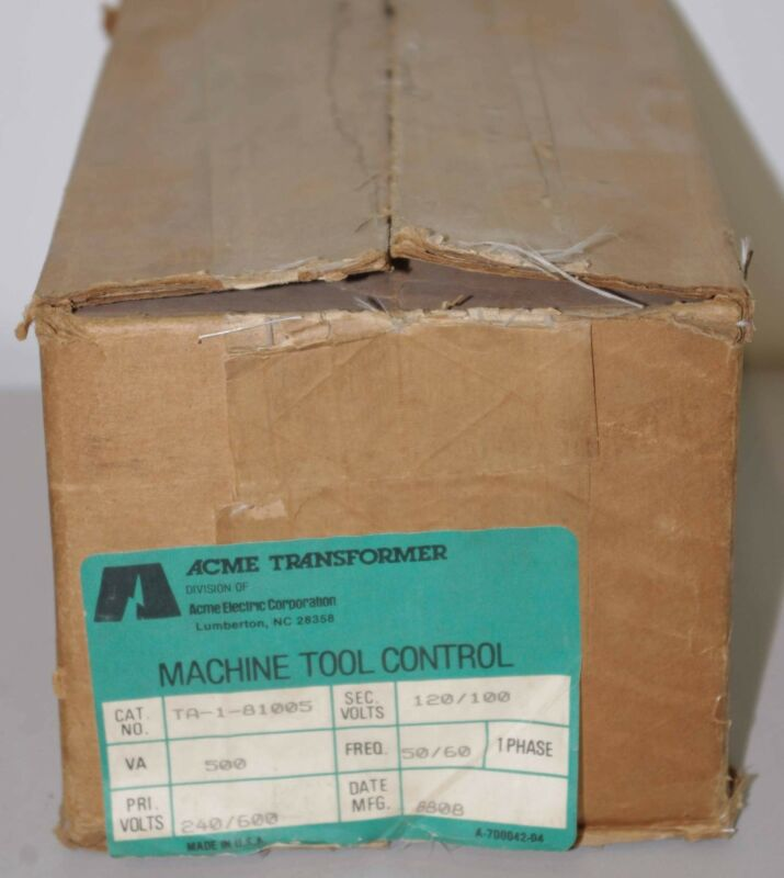 Acme Transformer TA-1-81005 ++ NEW ++
