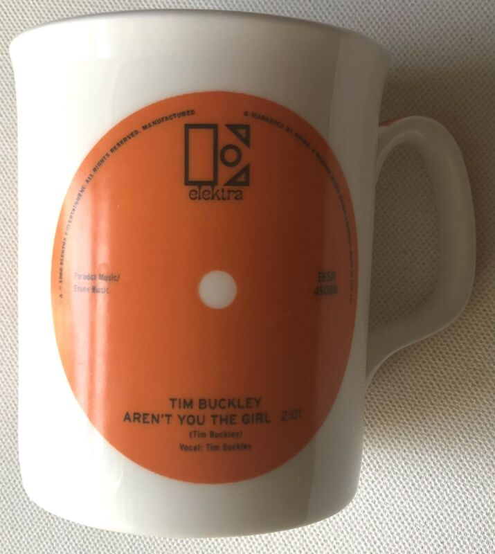 Tim Buckley Aren't You The Girl Rare Promo Mug