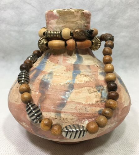 Southwest Pottery Water Vessel Vase Hand Crafted