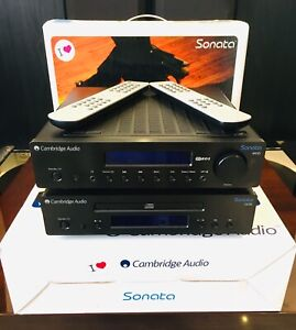CAMBRIDGE AUDIO SONATA 2.2 AUDIOPHILE QUALITY AMP AND CD PLAYER