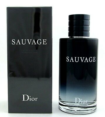 Sauvage Cologne by Christian Dior 6.8.oz.EDT Spray for Men. NEW.