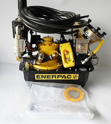 Enerpac Za4204tx-q Two Speed Air Hydraulic Torque Wrench Pump 10000 Psi