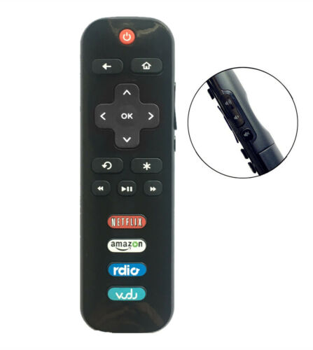 New Rc280 Led Hdtv Remote Control For Tcl Roku Tv With Rdio Vudu Netflix Amazon