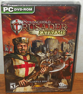 Extreme Pc - Stronghold Crusader Extreme (PC Games, 2008) NEW SEALED