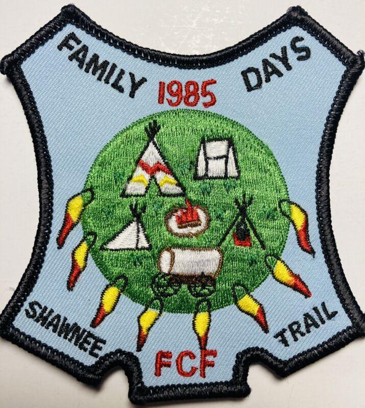 ROYAL RANGERS Patch 1985 Family Days Shawnee Trail FCF