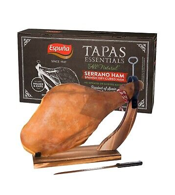 - Serrano Ham Gift Box All natural, No nitrates, nitrites or preservative added