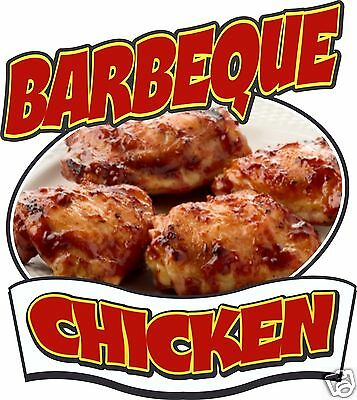 Chicken Barbeque Concession Decal 14 Food Truck Vinyl Signs Sticker