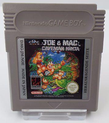 Nintendo Game Boy GB Modul - Joe & Mac Caveman Ninja