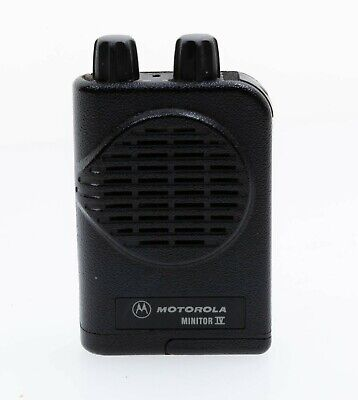 Motorola Minitor Iv4 Low Band 33-49 Mhz Two-channel Vibrating Fireems Pager