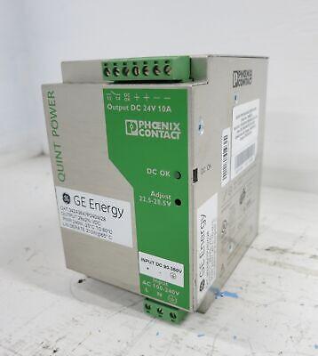 Phoenix Contact Quint-ps-100-240ac28dc8.5 Power Supply Ge Energy Ex2100e